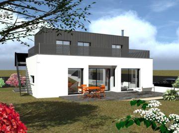 Avant projet maison individuelle 3D